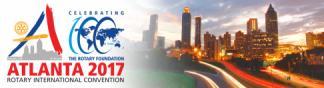 Banner de Convención de Rotary en Atlanta 2017