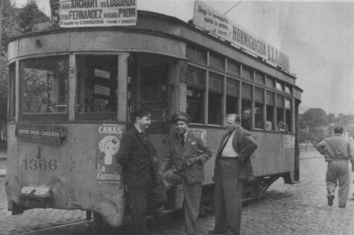 Buenos Aires antiguo y sus tranvías