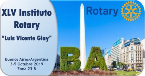 XLV Instituto Rotary 2019