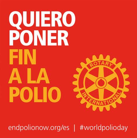 Quiero poner fin a la polio