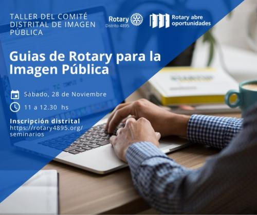 Guias de Rotary para la Imagen Pública